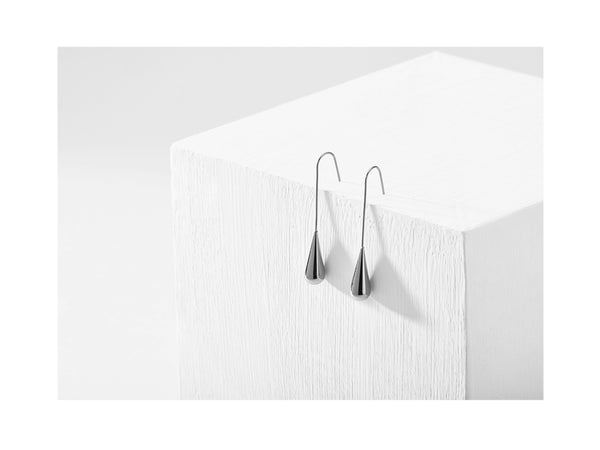 Raindrop Earrings - Silver