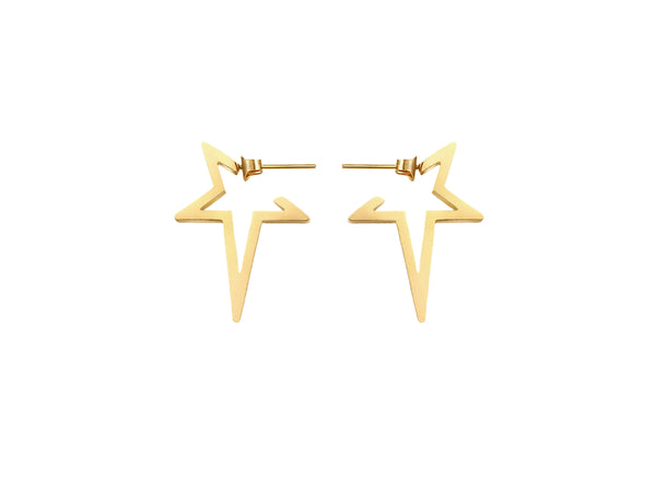 Stars Earrings - Gold