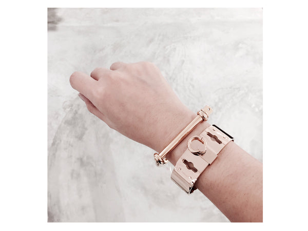 Clara Bangle - Rosegold - themultistorey.co