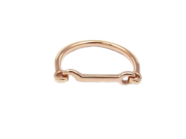 Hook Bangle - Rosegold - themultistorey.co