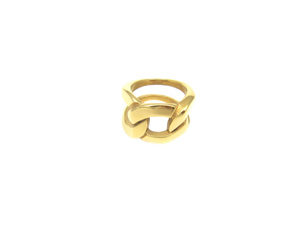 Maxi Chain Ring - Gold - themultistorey.co