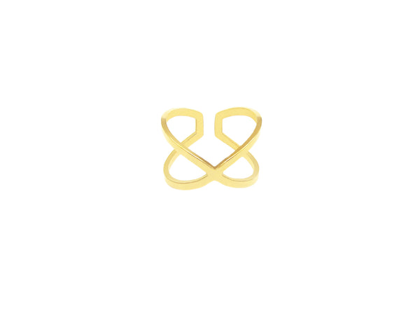 Cross Ring - Gold - themultistorey.co