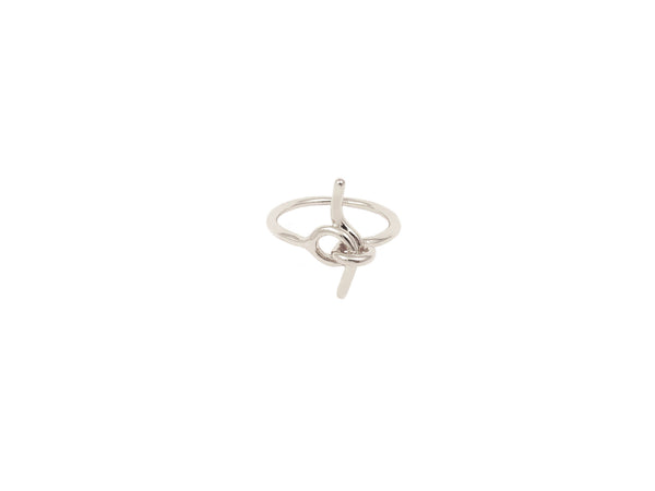 Tie Knot Ring - Silver - themultistorey.co