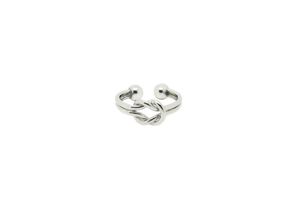 Double Knot Ring - Silver - themultistorey.co