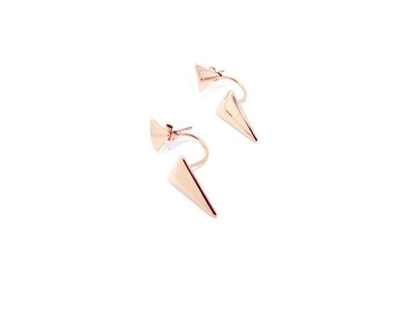 Dion Earrings - Rosegold - themultistorey.co