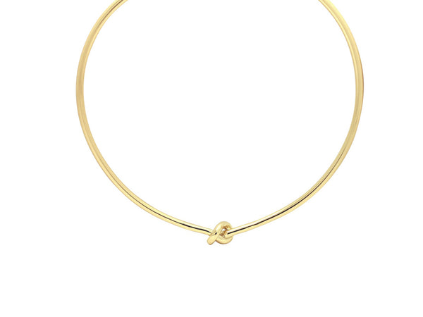 Knot Choker - Gold / Silver - themultistorey.co