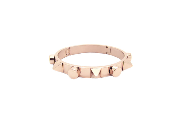 Talia Spikes Bangle - Rosegold (2 Sizes) - themultistorey.co