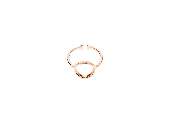 Circle Ring - Rosegold - themultistorey.co