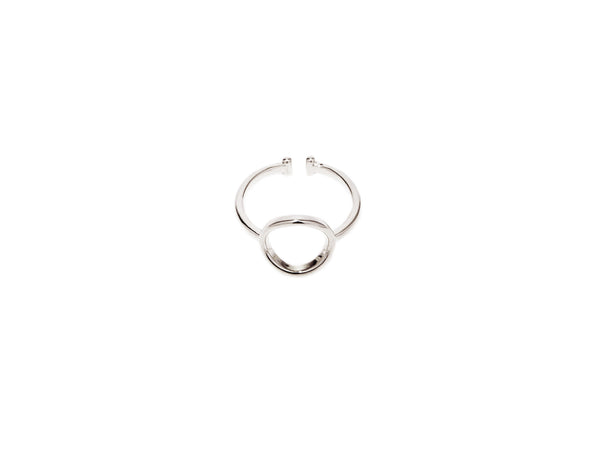 Circle Ring - Silver - themultistorey.co