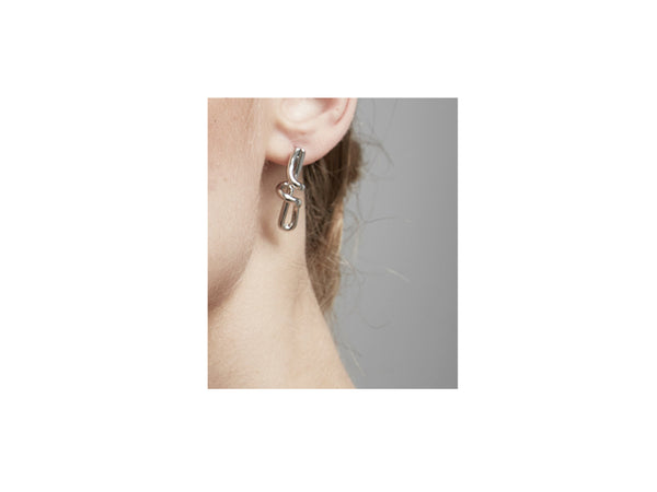 Julien Earrings - Silver - themultistorey.co
