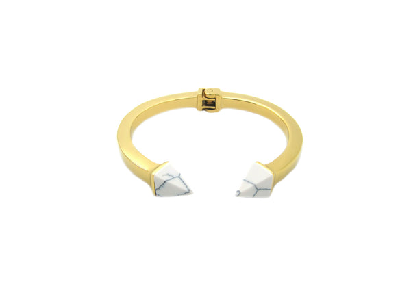 Kate Marble Bangle - Gold - themultistorey.co
