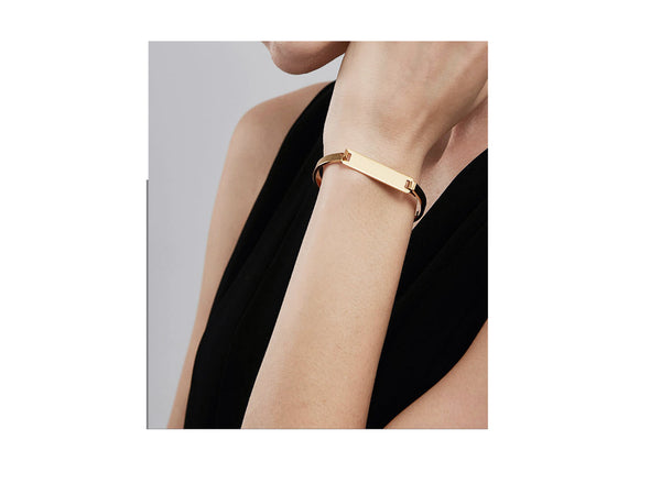 Parker Love Bangle (customisable) - Gold / Silver / Rosegold - themultistorey.co