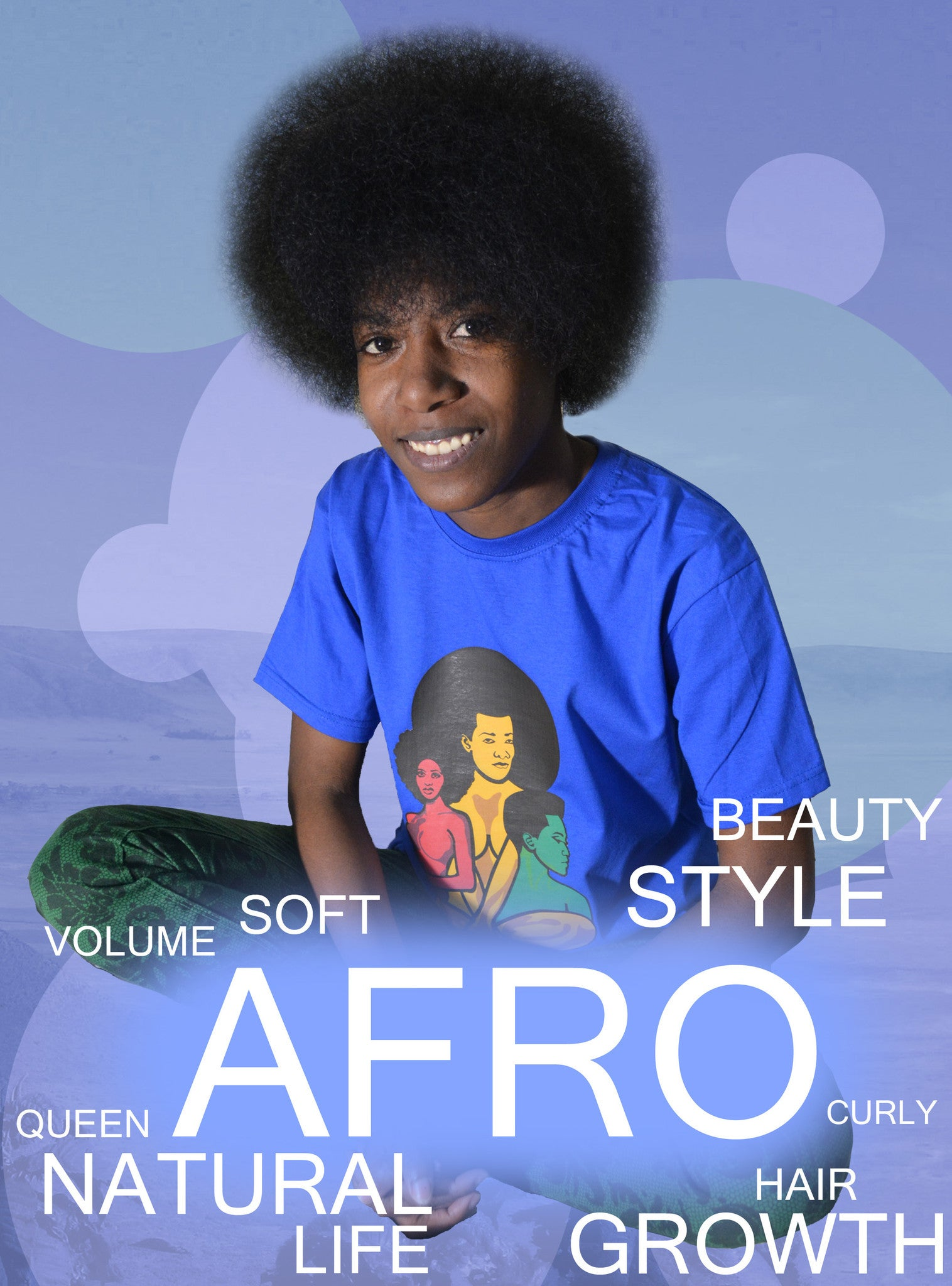 Afro Natural Beauty T-Shirt