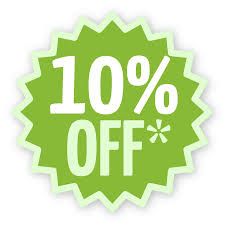 Don't let the April Showers get you down - enjoy an exclusive 10% off!