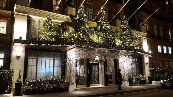 The Preservation Society goes to Claridges
