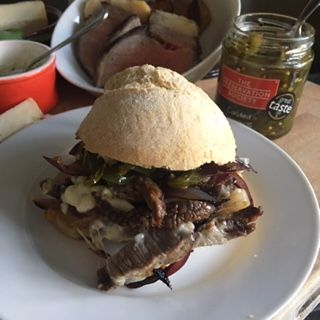 How to make THE best CaerPhilly Cheese Steak Sarnie