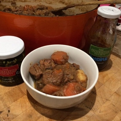 Bab's Stew, a Winter Warmer