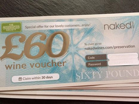 Naked Wines £60 Voucher