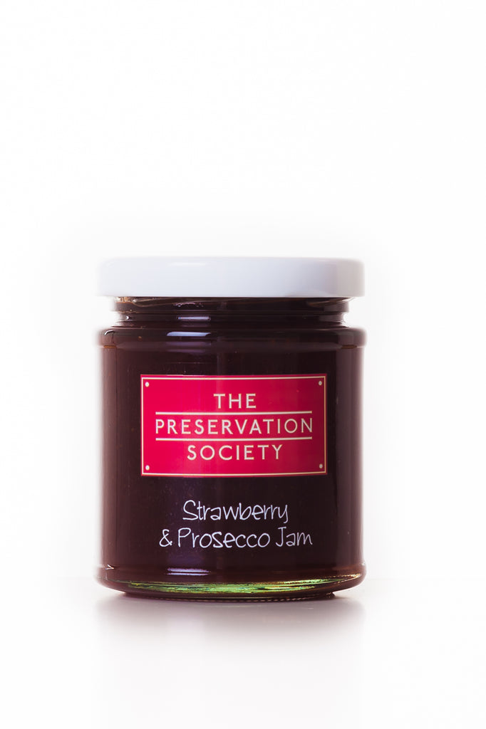 Strawberry and Prosecco Jam - The Preservation Society