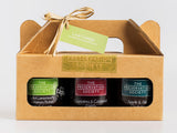 Luxury Love Cheese Trio Gift Box - The Preservation Society