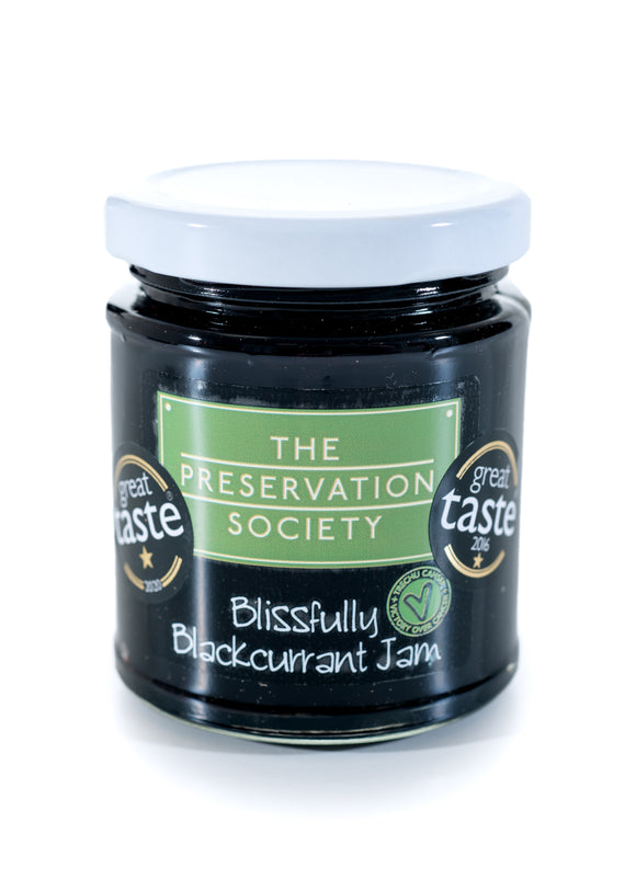 Blissfully Blackcurrant Jam - a 2nd Great Taste award for 2020 x