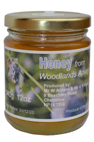 Honey from Woodlands Apiary