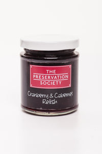 Cranberry and Cabernet Relish - The Preservation Society