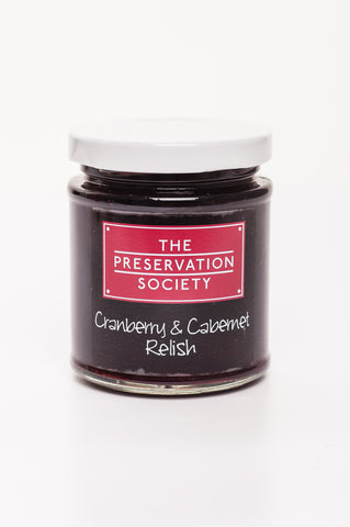 Cranberry and Cabernet Relish