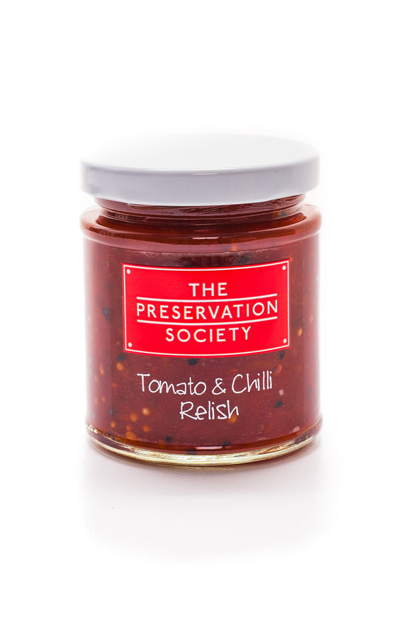 Tomato and Chilli Relish - The Preservation Society