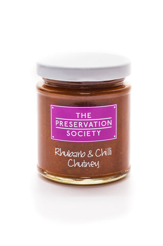 Rhubarb and Chilli Chutney