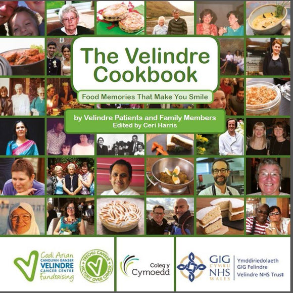 Velindre Cookbook  - Recipes That Make You Smile x - The Preservation Society