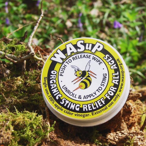 WASuP - Wasp Sting Relief For All Ages!!