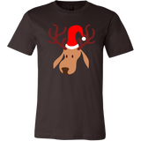 Festive Reindeer with Christmas Hat