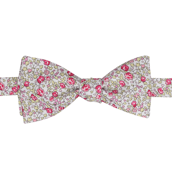 Nœud papillon Liberty Eloïse rose