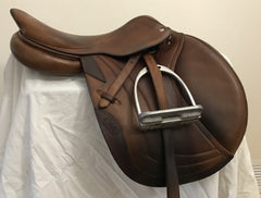 Item #CW65C – CWD 16.5/17 Full Calfskin, Long Flap, 2012, with Free Calfskin Leathers and MDC Irons
