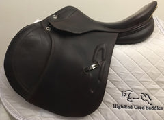 Item #PS20C - Prestige Michel Robert 16/16.5, 2012, Full Calfskin, 33 cm Med to MW Tree That Offers Some Adjustability