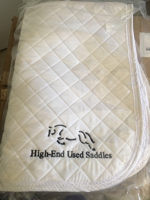 Item #HE6E - High-End Used Saddles Quilted Saddle Pad