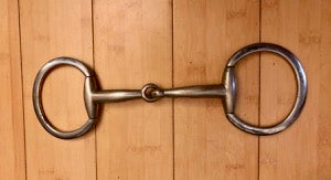"Item #M156C – Eggbutt Snaffle – Measures Approx. 5 ¾"", Compare at $26 and up"
