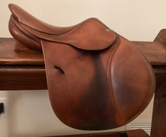 Item #AN105C - Antares 14.5/15 Upgraded Leather, 2007, Wide Tree for Pony Fit