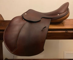 "Item #H15C - Hermes Essentielle 16"", Integrated Panels, Excellent Condition, Super Soft Grippy Leather, Retail $6,000"