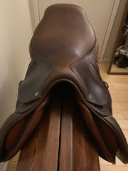 "Item #CW85C - CWD SE02 17"" Regular Flap (2L), Full Buffalo, Soft Grippy Leather, Regular Tree, 2009, with CWD Leathers and Metalab Irons"