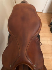 Item #CW90C - CWD 17.5 Long/Forward, Full Calfskin, 2010, Integrated Panels, Tree with Wither Clearance