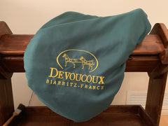 Item #DV94C - Devoucoux Chiberta 16/16.5 Monoflap Full Buffalo, 2011, Beautiful Condition