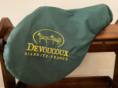 "NEW LISTING: Item #DV97C - Devoucoux Biarritz 17.5"", Flap for Taller Rider (4), Tree Fit for Horse with Big Shoulder/Withers, 2008"