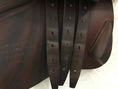 "Item #CW67C – CWD 18"" Long Flap 2011, Grippy Leather, Tree Suitable for High-Withered Horse"