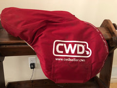 Item #CW76C - Item #CW76C – CWD 17.5 Hunter Model 2GS (with the Leather Trim) Full Calfskin, All the Bells and Whistles, 2016 Model, Long/Forward Flap