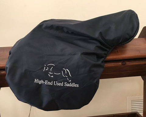 Item #HE8E – New Fleecy-Lined Saddle Cover with Window Pocket for Your Contact Info/Business Card