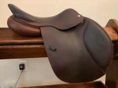 "Item #CW86E - CWD 17"" SE02, 2012, Tree Fit Suitable for High-Withered Horse, Integrated Panels, Reg/Long Flap"