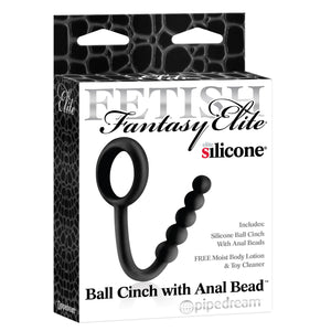 Ball Cinch with Anal Bead