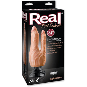 Real Feel Deluxe No. 8 Dubbelvibrator